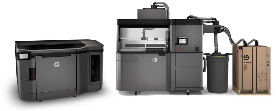 HP Multi Jet Fusion 4200 Printer and Processing station